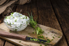 Fresh made Herb Curd Stock Photography