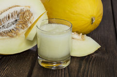 Fresh made Honeydew Juice Royalty Free Stock Image