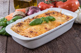 Fresh made Lasagne Royalty Free Stock Photography