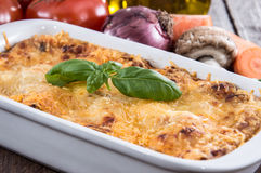 Fresh made Lasagne Royalty Free Stock Image