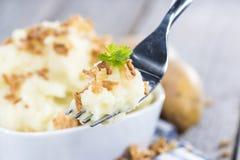 Fresh made Mashed Potatoes Stock Photo