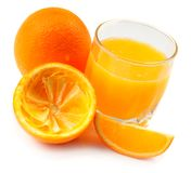 Fresh made orange juice Royalty Free Stock Photo