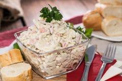Fresh made Pasta Salad Royalty Free Stock Images