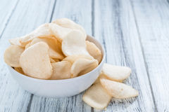 Fresh made Prawn Crackers (Krupuk) Stock Images