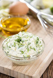 Fresh made Sauce Remoulade Stock Photography