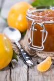 Fresh made Tangerine Jam Royalty Free Stock Images