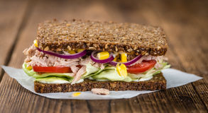 Free Fresh Made Tuna Sandwich With Wholemeal Bread (selective Focus) Royalty Free Stock Image - 80033066