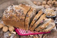 Fresh made Walnut Bread Stock Photography
