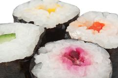 Fresh Maki Royalty Free Stock Photos