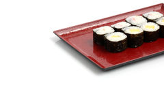 Fresh Maki Rolls Stock Photos