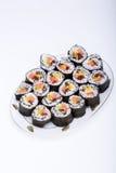 Fresh maki rolls Stock Image