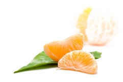 Fresh mandarin Royalty Free Stock Photography