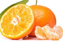 Fresh mandarin Royalty Free Stock Images
