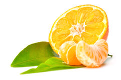Fresh mandarin close-up Stock Photo