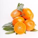 Fresh mandarin fruits Royalty Free Stock Images