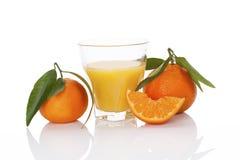 Fresh mandarin juice. Stock Photography