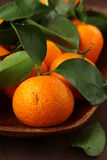 Fresh mandarin orange Royalty Free Stock Image