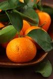 Fresh mandarin orange Royalty Free Stock Image