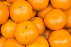 Fresh mandarin oranges. Fresh fruit background Stock Photography