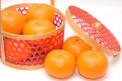 Fresh mandarin oranges Royalty Free Stock Photo