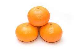 Fresh mandarin oranges Royalty Free Stock Image