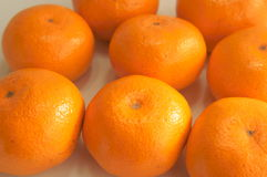 Fresh mandarin oranges Royalty Free Stock Photo