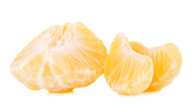 Fresh Mandarin Slices Stock Image