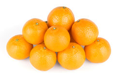 Fresh mandarins Stock Images