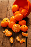 Fresh Mandarins In Bowl Royalty Free Stock Photo