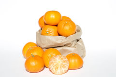 Fresh mandarins Royalty Free Stock Images