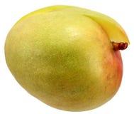 Fresh mango. Fresh mango fruit with cut and isolated on white background stock photos