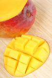Fresh mango close-up Stock Photos