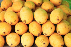 Fresh mango fruits. background Stock Photo