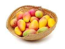 Fresh mango fruits. Isolated on white background stock photos