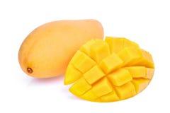 Fresh mango isolated on white Stock Image