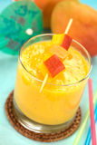 Fresh Mango Juice Stock Photos