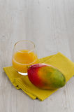 Fresh mango juice Royalty Free Stock Photography