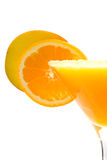 Fresh mango/orange juice Stock Photo