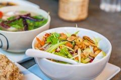 Fresh mango salad, Thai food Stock Image