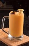 Fresh mango shake Stock Photo