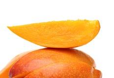 Fresh Mango Slice Stock Photo