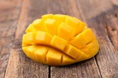 Fresh mango slice Stock Images