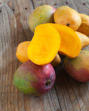 Fresh mango Royalty Free Stock Photos