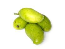 Fresh mangoes. Fresh mango on white background Stock Images