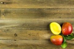 Fresh Mangoes Stock Image