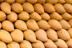 Fresh mangoes stall Stock Photo