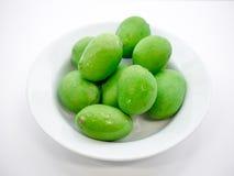 Fresh mangoes Stock Images