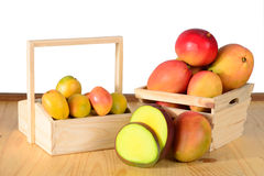 Fresh Mangos Stock Photo