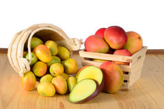 Fresh Mangos Royalty Free Stock Photo
