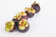 Fresh mangosteen fruit Royalty Free Stock Photo